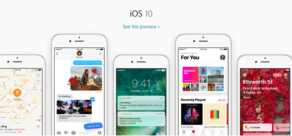 iOS 10 Tanıtıldı! Özellikleri ve Yayınlanma Tarihi