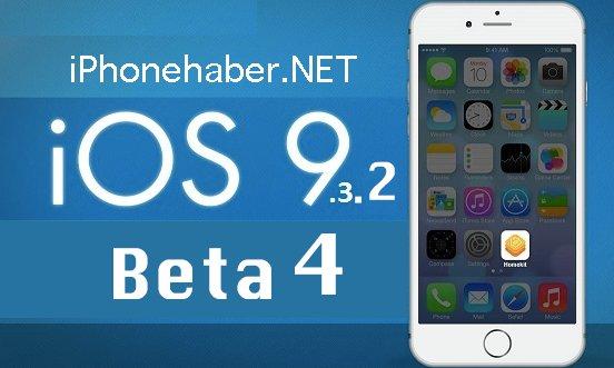 iOS 9.3.2 Beta 4 Yayınlandı