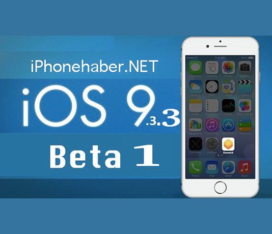 iOS 9.3.3 Beta 1 Yayınlandı