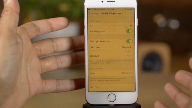 iPhone Night Shift Modu Nasıl Kullanılır