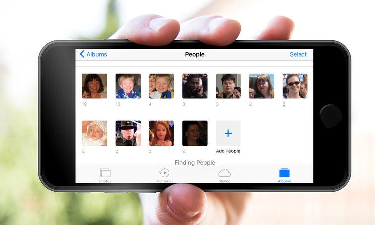 iOS 10'da Çekilen Fotoğraftaki Yüzlere İsim Verme Özelliği