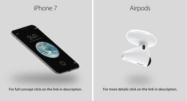 iphone 7 kablosuz kulaklik
