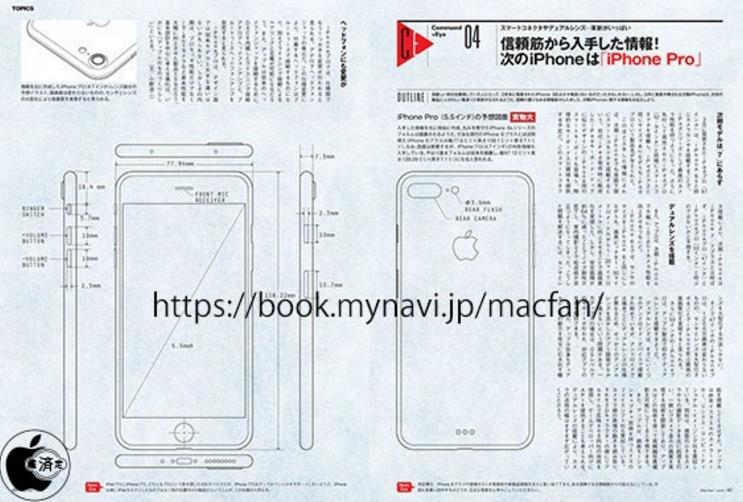 iPhone 7 Pro ve iPhone 7'nin Tasarım Görseli sızdırıldı!