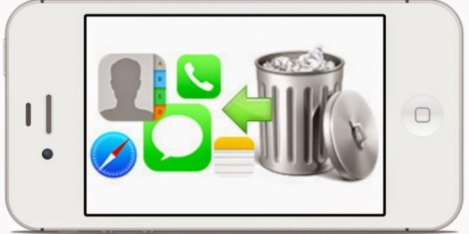 iPhone Silinen Resimleri ve Dosyaları geri getirme