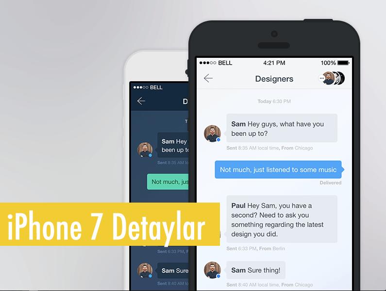 iPhone 7 ve iPhone 7 Plus tanıtım öncesi detayları ve özellikleri