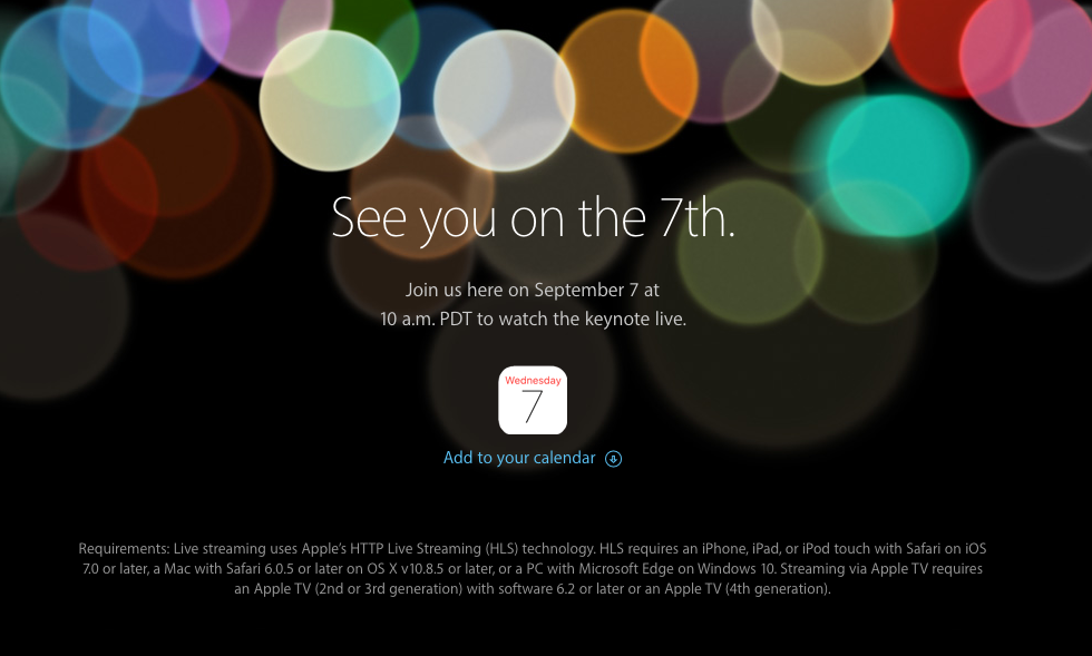 Apple iPhone 7 Tanıtım Etkinliği (CANLI ANLATIM)