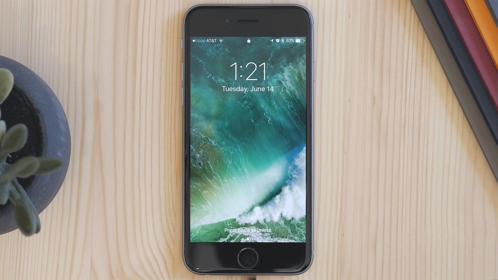 iOS 10 Kilit Ekranını Ana Ekran Tuşuna Basmadan Touch ID ile Açma Yöntemi