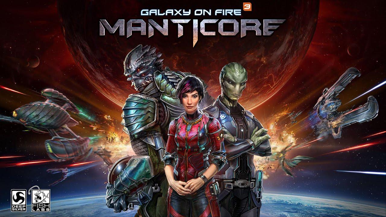 Galaxy on Fire 3: Manticore App store'da Ücretsiz