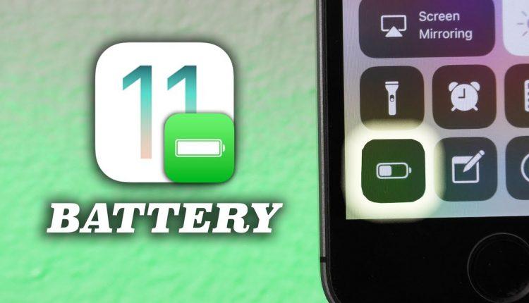 iOS 11 güncellemesine yakında yeni pil sağlığı özelliği eklenecek