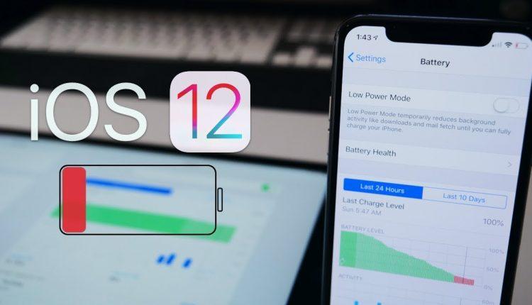 iOS 12 Pilin Kapasitesini öğrenme