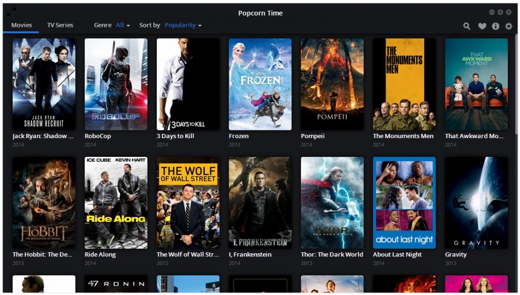 Popcorn Mac Dizi – Sinema izleme uygulamasi