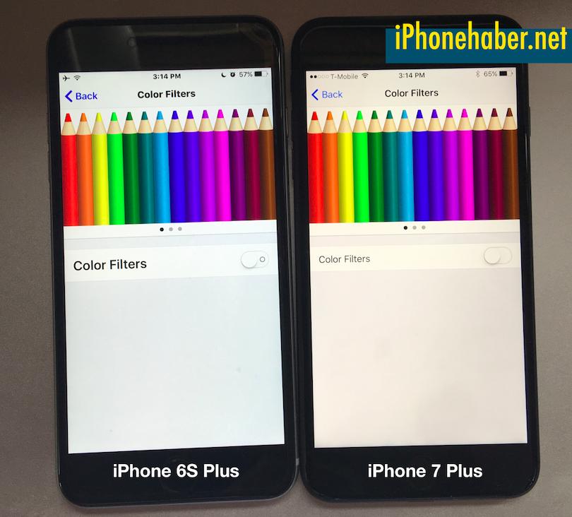 iPhone 7 Sarı Ekran sorunu Çözümü