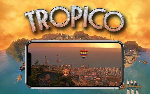 Tropico Oyunu iPhonelara geliyor!