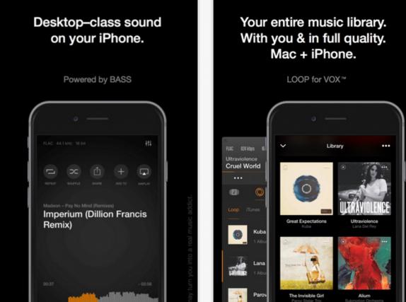 VOX – Music Player Uygulaması App Store'da ÜCRETSİZ