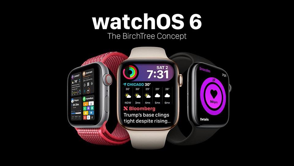 Apple Watch için WatchOS 6 Nasıl Olacak? (Konsept Tasarım)