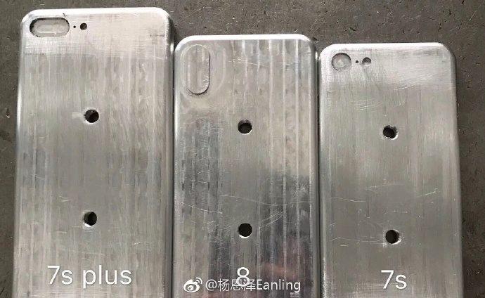 iPhone 8, iPhone 7s ve iPhone 7s Plus'ın Kasa Kalıpları görüntülendi!